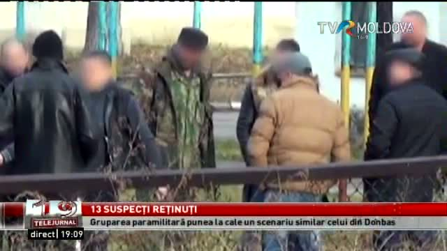 Telejurnal Moldova - 13 suspecți reținuți