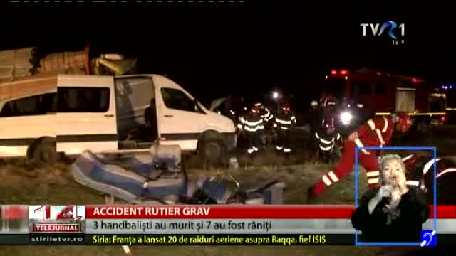 Accident grav la Buzău