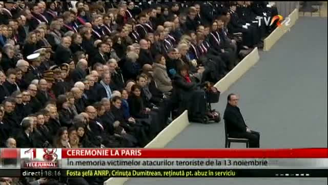 Ceremonie la Paris