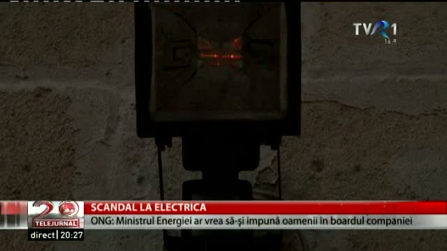 Scandal la Electrica