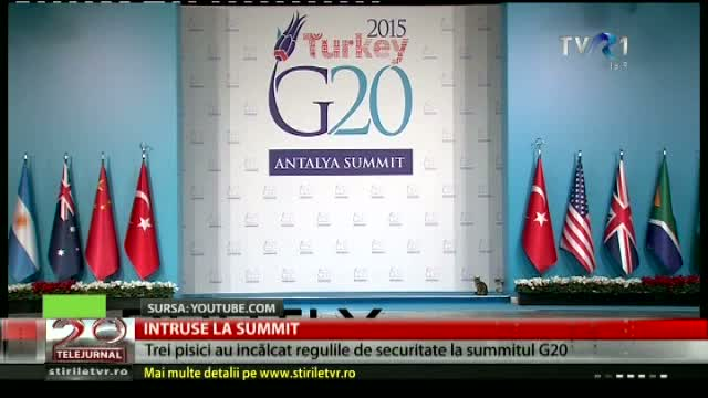Intruse la summitul G20