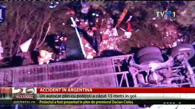 Accident în Argentina