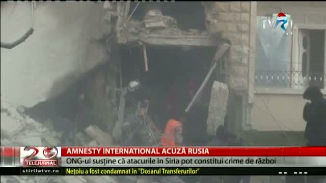 Amnesty International acuză Rusia