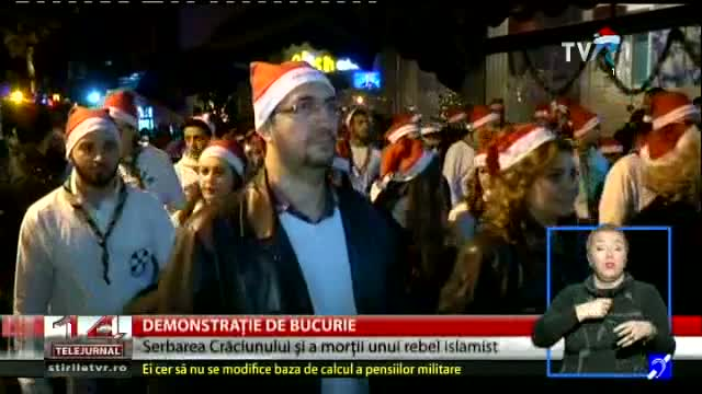 Demonstrație de bucurie