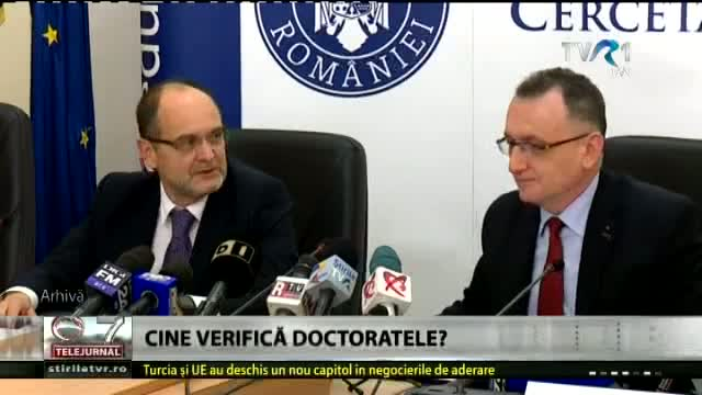Cine verifică doctoratele?