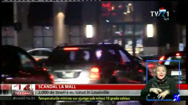 Scandal la mall