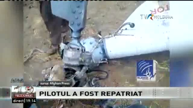 TELEJURNAL MOLDOVA / Pilot repatriat
