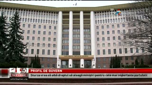 TELEJURNAL MOLDOVA / Profil de guvern