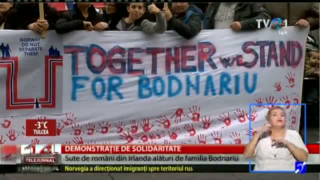 Demonstrație de solidaritate