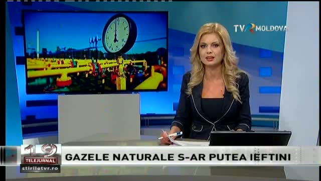 Telejurnal Moldova. Gazele naturale s-ar putea ieftini