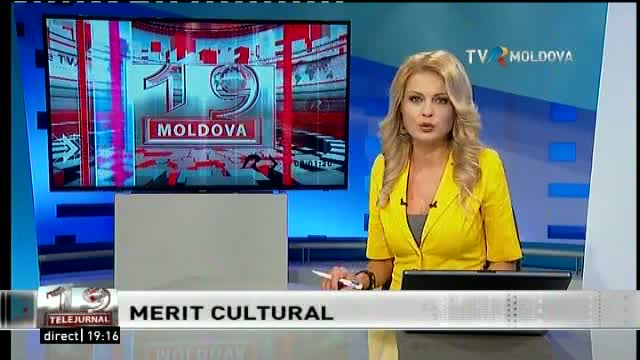 Telejurnal Moldova - Merit cultural