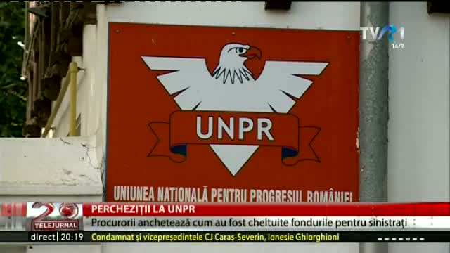 Percheziții la UNPR