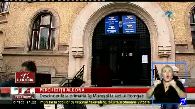Percheziții DNA la Târgu Mureș