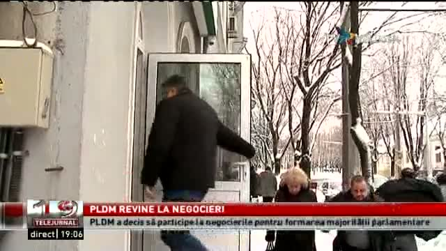 Telejurnal Moldova - PLDM revine la negocieri