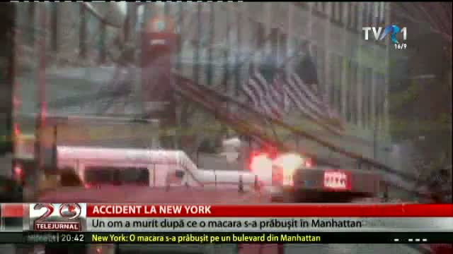 Accident la New York