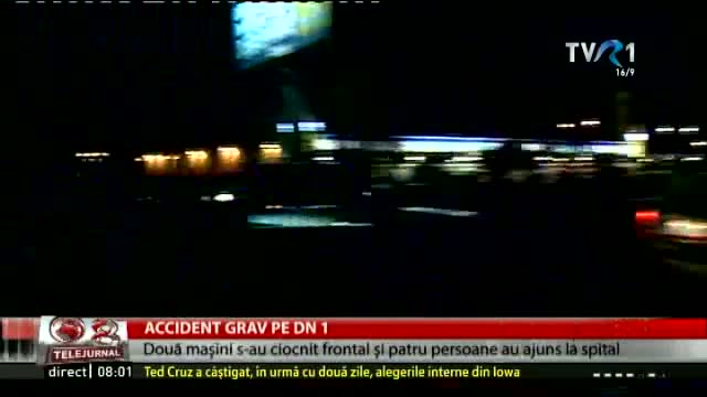 Accident grav pe DN1