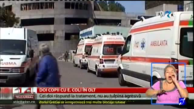 Doi copii, diagnosticați cu E. Coli