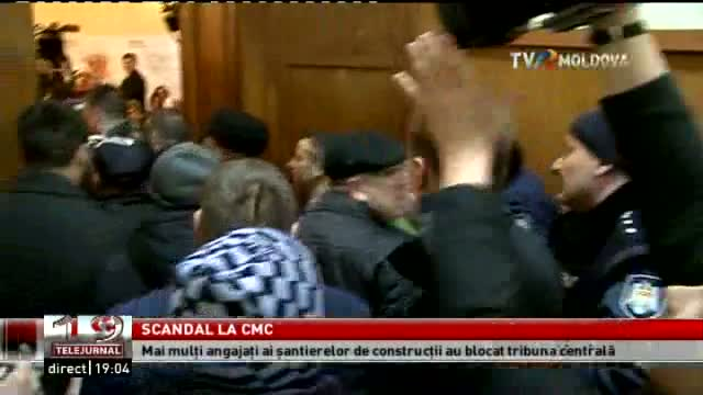 TELEJURNAL MOLDOVA / Scandal la CMC