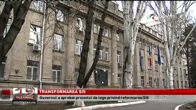 TELEJURNAL MOLDOVA / Transformarea SIS