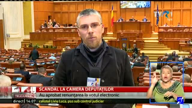 Scandal la Camera Deputaților