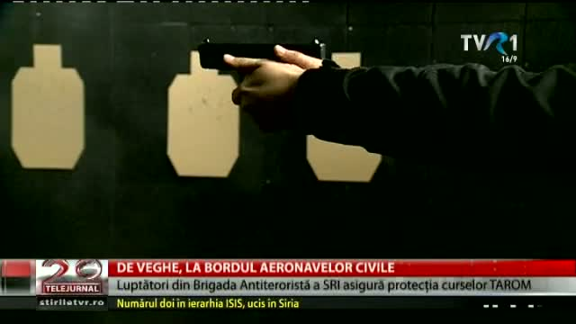 De veghe la bordul aeronavelor civile