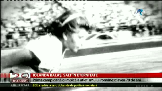 Iolanda Balaș, salt în eternitate