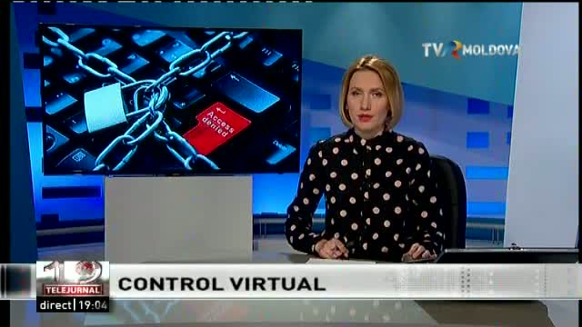 TELEJURNAL MOLDOVA / Controlul cibernetic