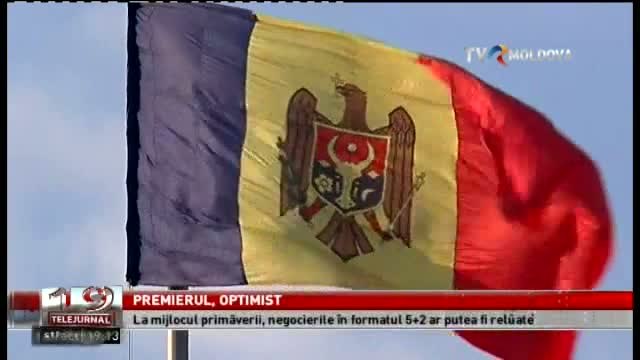 TELEJURNAL MOLDOVA / Premierul, optimist