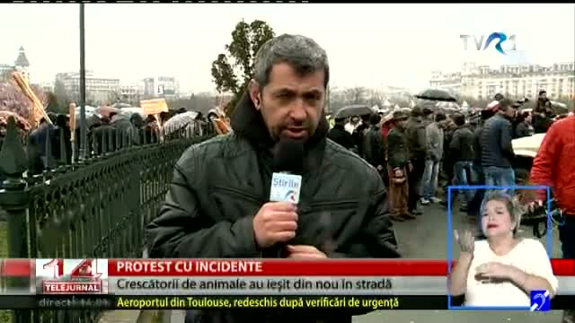Proteste cu incidente