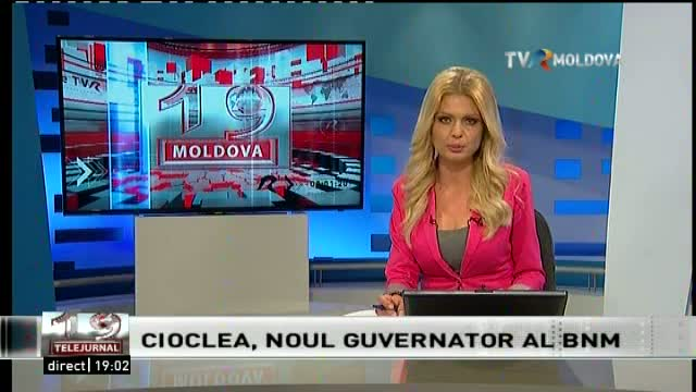 Telejurnal Moldova BNM are guvernator nou