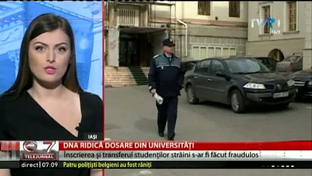 DNA ridică dosare din universități