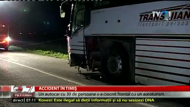 Accident în Timiș