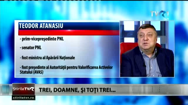 Teodor Atanasiu, în direct la Prim Plan