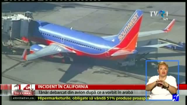 Incident în California