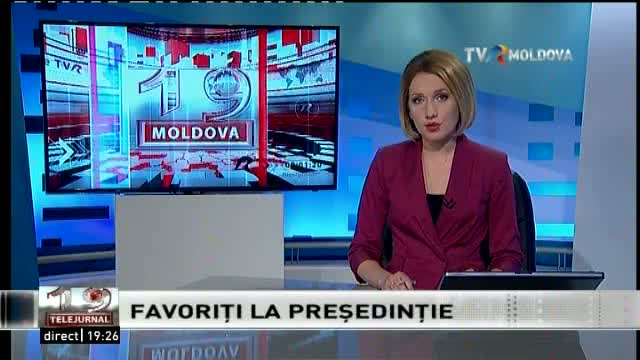 Telejurnal Moldova - Favoriți la Președinție