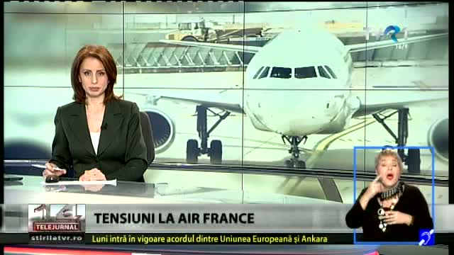 Tensiuni la Air France