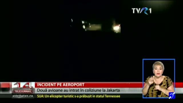 Incident pe aeroport