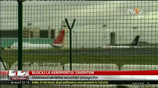 Blocaj pe aeroport