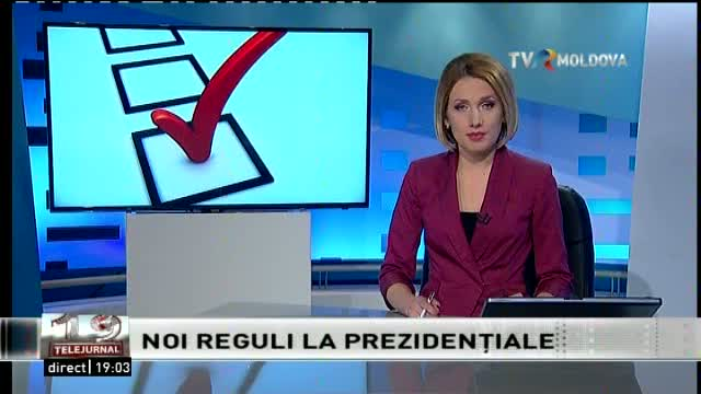 Telejurnal Moldova - Noi reguli la prezidențiale