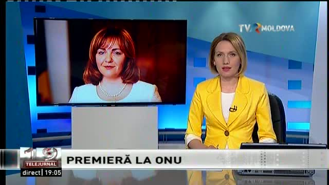Telejurnal Moldova - Premieră la ONU