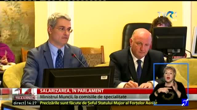 Direct, Parlament - discuții despre salarizare