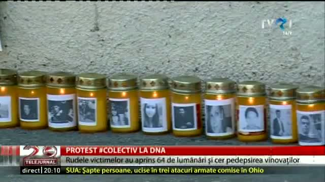 Protest Colectiv la DNA