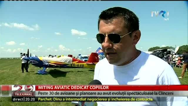 Miting aviatic la Clinceni
