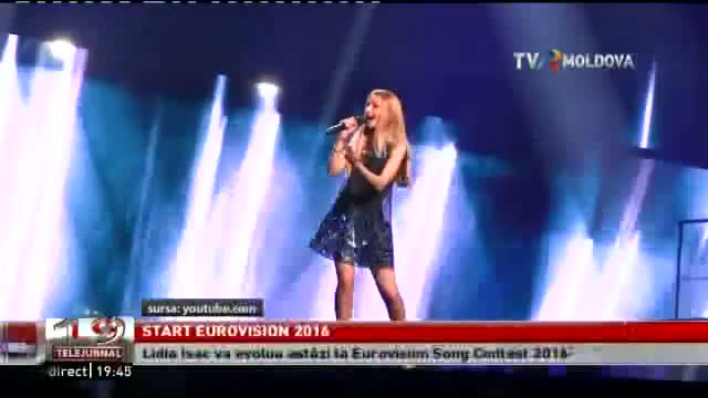TELEJURNAL MOLDOVA / Start Eurovision 2016
