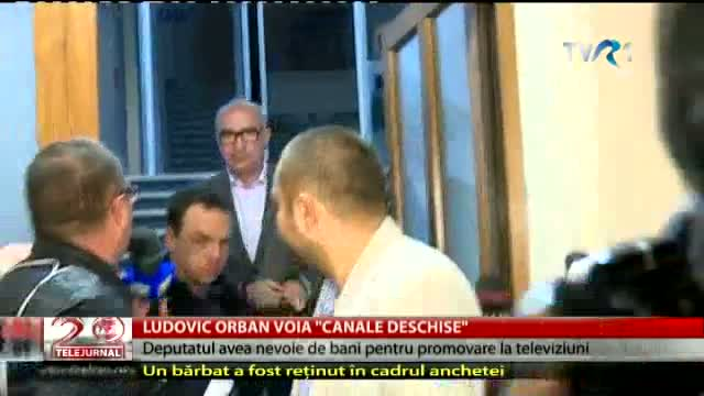 Ludovic Orban voia canale deschise