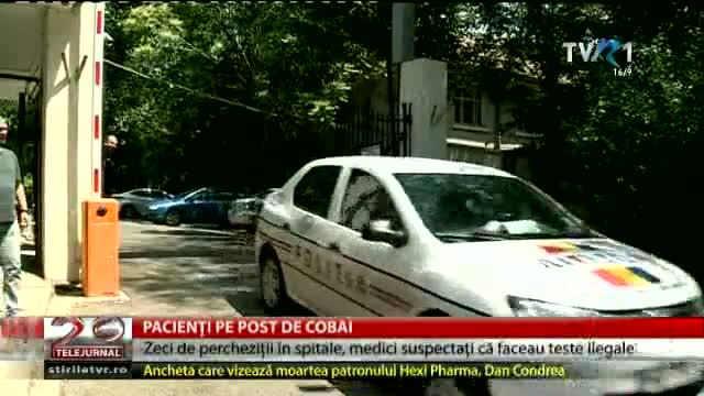 Pacienți pe post de cobai