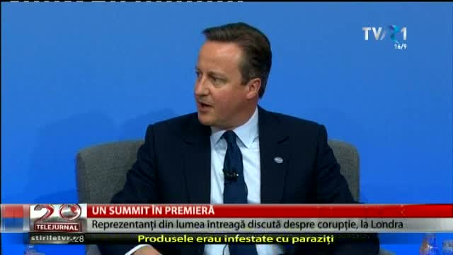 Un summit anticorupție la Londra