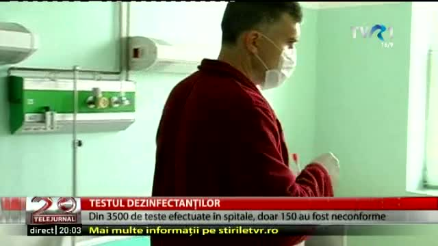 Testul dezinfectanților