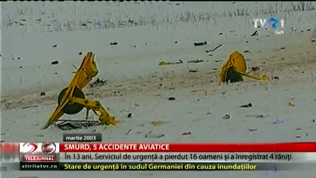 5 accidente aviatice ale SMURD