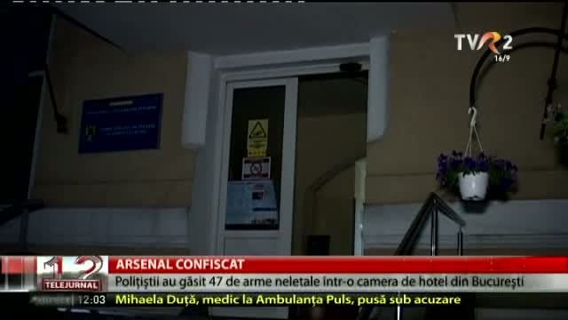 Arsenal confiscat